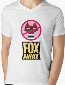 "Zootopia's ""Fox Away""  Mens V-Neck T-Shirt"