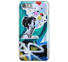 her universe pasted up  iPhone Case/Skin