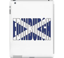 Edinburgh. iPad Case/Skin