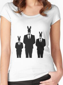 DONKEY' S FAMILY Women's Fitted Scoop T-Shirt