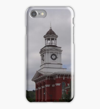 Brookville courthouse iPhone Case/Skin