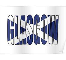 Glasgow. Poster