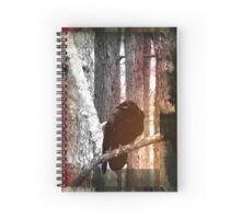 Inky Raven Spiral Notebook