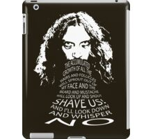 Alan Moore iPad Case/Skin
