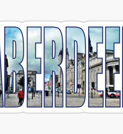 Aberdeen Sticker