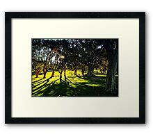 At Centennial Park Framed Print