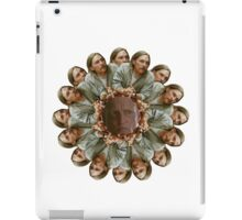 Time is a Flat Circle iPad Case/Skin
