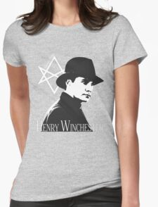 Henry Winchester, Man of Letters Womens Fitted T-Shirt