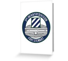 3rd Infantry CAB Greeting Card