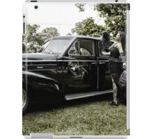 Classic Caddy And Cool Lace Boots iPad Case/Skin