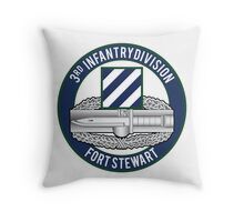 3rd Infantry CAB Throw Pillow