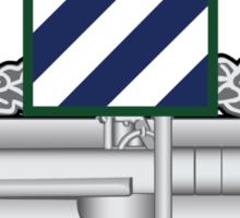 3rd Infantry CAB Sticker