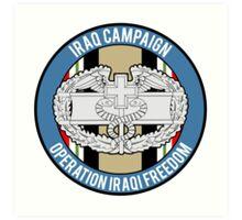 Iraqi Freedom CFMB Art Print