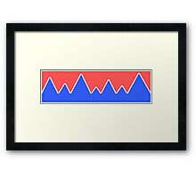 Mountains Landscape Framed Print
