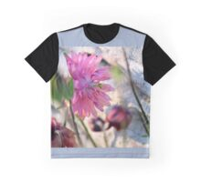 'Clementine Rose' Columbine on Last Day of Spring Graphic T-Shirt