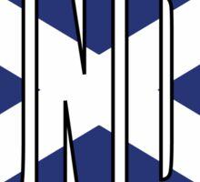 Dundee. Sticker