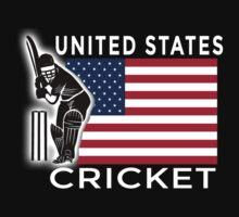 United States Cricket Kids Tee