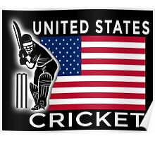 United States Cricket Poster