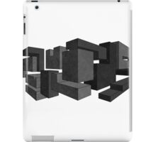 Blocks in Perspective iPad Case/Skin
