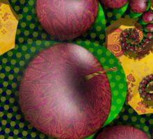 Groovy Apple Tree Sticker