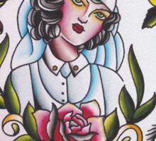 Original Watercolor Tattoo Flash Painting Sticker