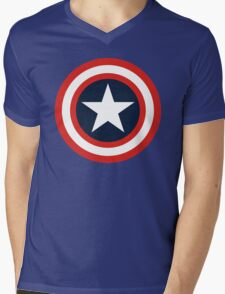 captain america Mens V-Neck T-Shirt