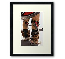 Dressed For the Pow Wow Framed Print