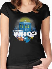 Finding Who? Women's Fitted Scoop T-Shirt