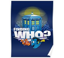 Finding Who? Poster