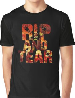 Doom - Rip And Tear Graphic T-Shirt