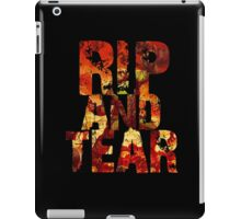 Doom - Rip And Tear iPad Case/Skin