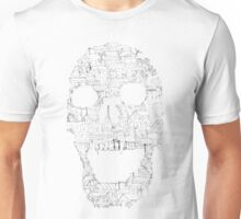 Skull - Shantytown Walls Unisex T-Shirt