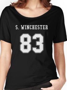 Sam Winchester jersey Women's Relaxed Fit T-Shirt
