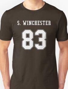 Sam Winchester jersey Unisex T-Shirt