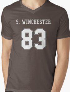 Sam Winchester jersey Mens V-Neck T-Shirt