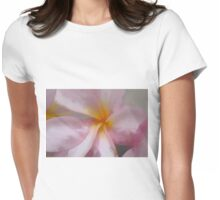 Pink Softness Womens Fitted T-Shirt