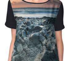 On the Lava Shore Chiffon Top