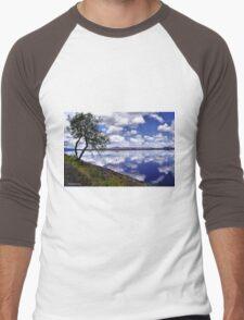 Klamath Basin National Wildlife Refuge  Men's Baseball ¾ T-Shirt