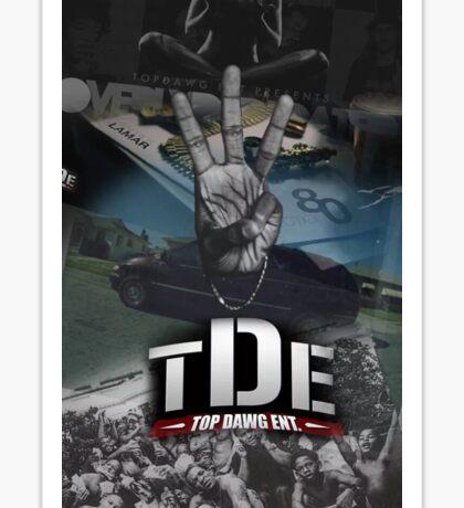 Kendrick Lamar HiiiPower TDE album mashup Sticker