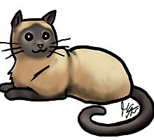 Siamese Cat  by jameson9101322