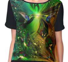 BUTTERFLIES ARE FREE, SO ARE YOU AND ME Chiffon Top