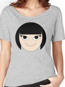 Cute Girl Stamp Women's Relaxed Fit T-Shirt