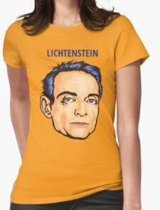 Lichtenstein Womens Fitted T-Shirt