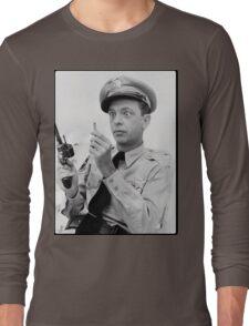 Gun Crazy Barney Long Sleeve T-Shirt