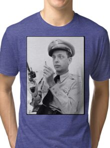 Gun Crazy Barney Tri-blend T-Shirt