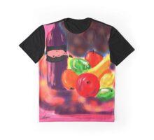Night Still Life by Roger Pickar, Goofy America Graphic T-Shirt