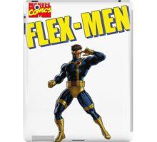 Flex-Men  iPad Case/Skin