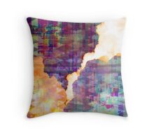 Feeling Polluted Throw Pillow