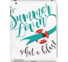 Summer Lovin' design iPad Case/Skin