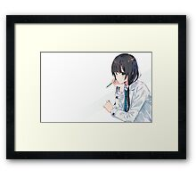 Shirobako Framed Print
